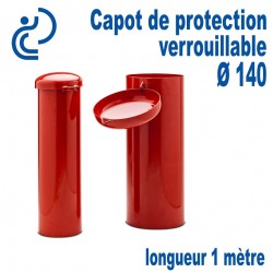 Capot de Protection Cadenassable D140 longueur 1000