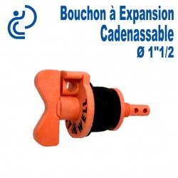 """Bouchon à Expansion Cadenassable 1""""1/2"""