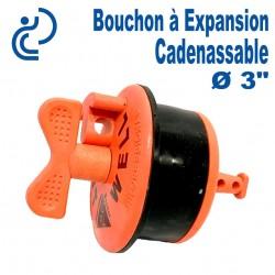 """Bouchon à Expansion Cadenassable 3"""""""