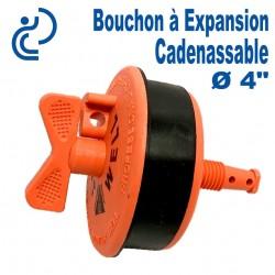 """Bouchon à Expansion Cadenassable 4"""""""