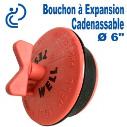 """Bouchon à Expansion Cadenassable 6"""""""