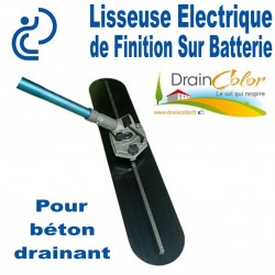 Lisseuse Electrique de Finition pour serrer le béton (sur batterie)