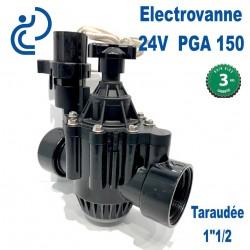 """Electrovanne 24V 1""""1/2 Série PGA 150"""