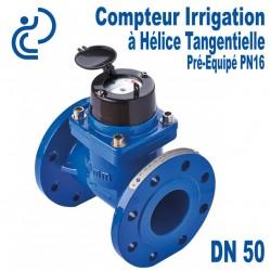 Compteur Irrigation à Hélice Tangentielle Pré-équipé DN50