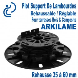 Plot Support de Lambourdes Réglable & Rehaussable ARKILAME 35/60