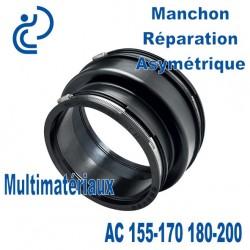 Manchon Réparation Asymétrique AC 155-170 180-200 Multimatériaux
