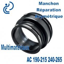 Manchon Réparation Asymétrique AC 190-215 240-265 Multimatériaux