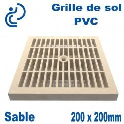 GRILLE DE SOL 20x20 Sable (trame classique)