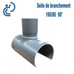 Selle de Branchement 160x80 à 90° PVC à coller