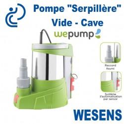 """Pompe """"Serpillère"""" Vide Cave WESENS"""