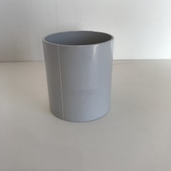 MANCHON GOUTTIERE PVC GRIS PASTEL FF D50