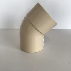 COUDE GOUTTIERE PVC