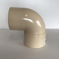 COUDE GOUTTIERE PVC SABLE 87° MF D50