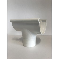 NAISSANCE CENTRALE A COLLER EN PVC BLANC