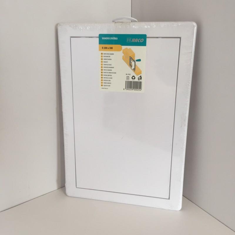 Trappe de visite en pvc blanc 20x30 - Trappes de visite ...