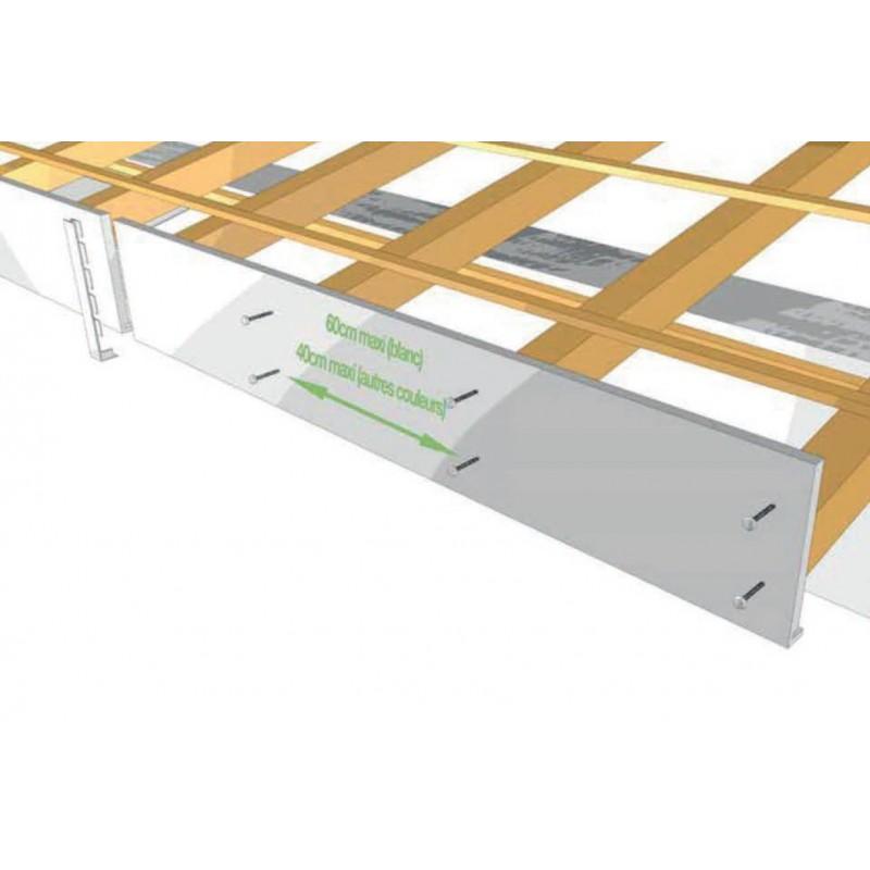 planche de rive a clouer pvc anthracite en l ep9 h250 longueur de 5ml. Black Bedroom Furniture Sets. Home Design Ideas
