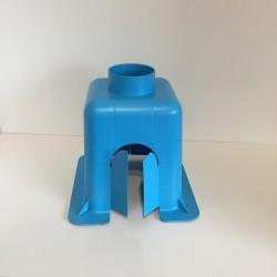 Tabernacle centré petit modèle en PVC bleu
