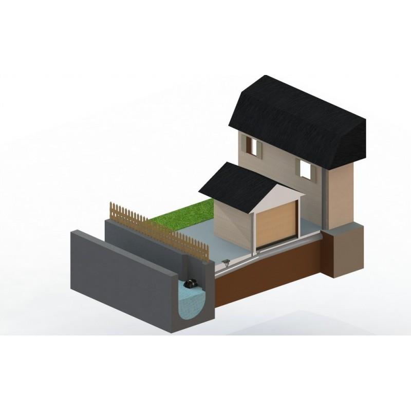 clapet de nez anti refoulement d125 pvc coller. Black Bedroom Furniture Sets. Home Design Ideas