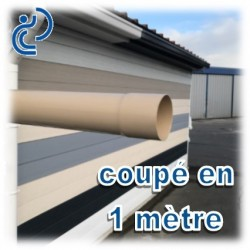 TUBE DESCENTE GOUTTIERE PVC