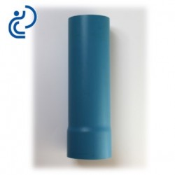 Tube allonge à emboîtement 250/290 mm en PVC bleu