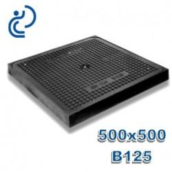 TAMPON HYDRAULIQUE COMPOSITE 500X500 B125