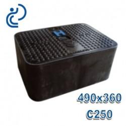 Coffret avec Tampon Composite C250 490x360