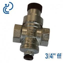"""Réducteur de Pression 3/4"""" FF réglable à piston"""