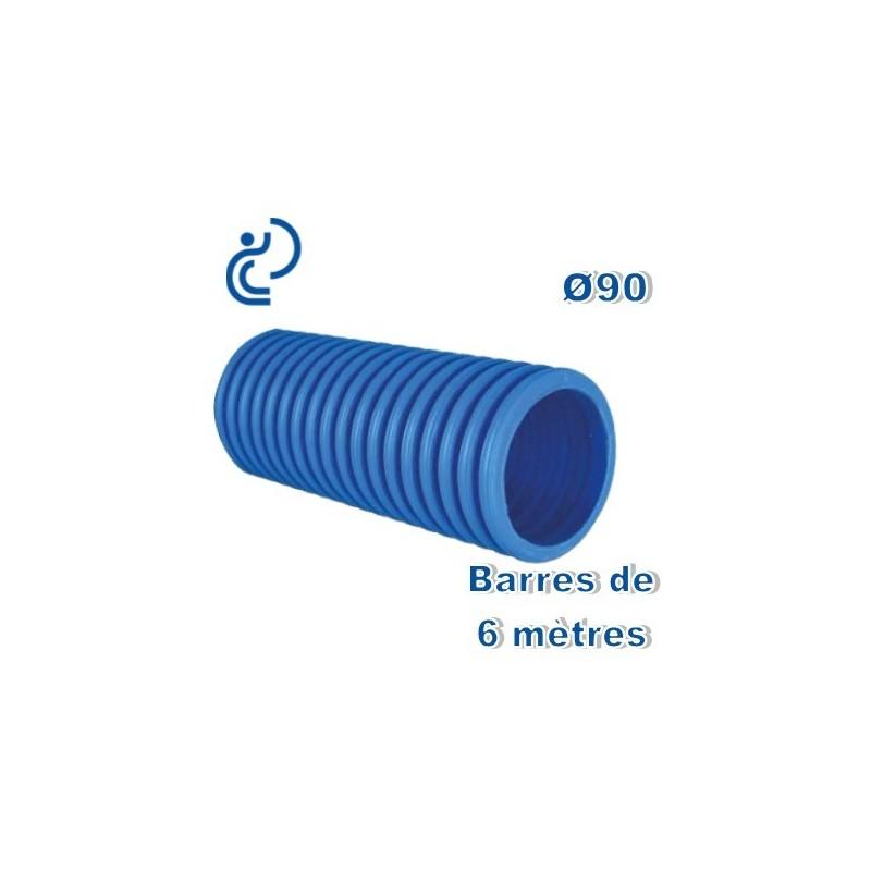 Gaine tpc bleue d90 en barres de 6ml - Gaine tpc 90 ...