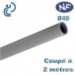 TUBE PVC NF D40 2ML