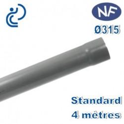 TUBE PVC NF D315