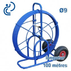 Aiguille de Tirage fibre de verre D9 en dévidoir 100ml