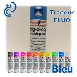 Traceur Chantier Fluo Bleu 500ml