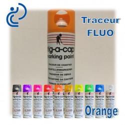 Traceur Chantier Fluo Orange 500ml