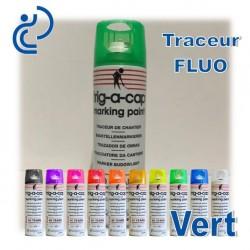 Traceur Chantier Fluo Vert 500ml