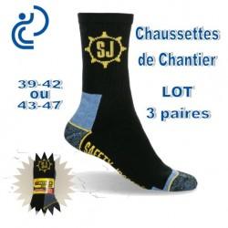 Chaussettes de Chantier (lot de 3 paires)