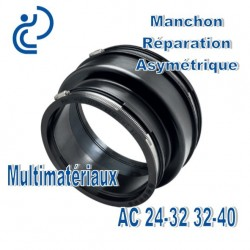 Manchon Adaptation/ Réparation asymétrique 24-32 32-40 Multimatériaux