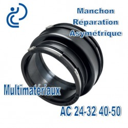 Manchon Réparation asymétrique 24-32 40-50 Multimatériaux