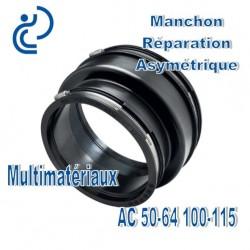 Manchon Réparation asymétrique 50-64 100-115 Multimatériaux