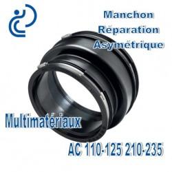 Manchon Réparation asymétrique 110-125 210-235 Multimatériaux