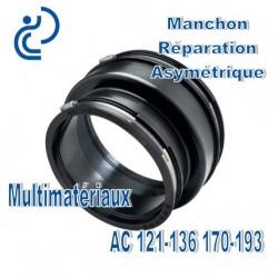 Manchon Réparation asymétrique 121-136 170-193 Multimatériaux