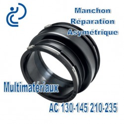Manchon Réparation asymétrique 130-145 210-235 Multimatériaux
