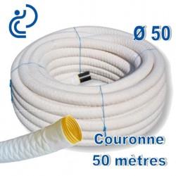 Drain Agricole D50 Enrobé géotextile Couronne de 50ml