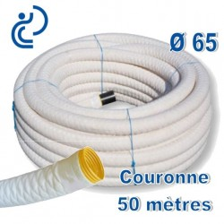 Drain Agricole D65 Enrobé géotextile Couronne de 50ml