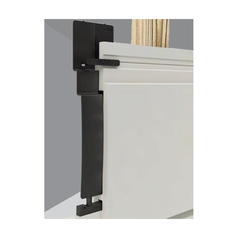 lame bardage gris fonc pvc cellulaire vein longueur 5ml. Black Bedroom Furniture Sets. Home Design Ideas