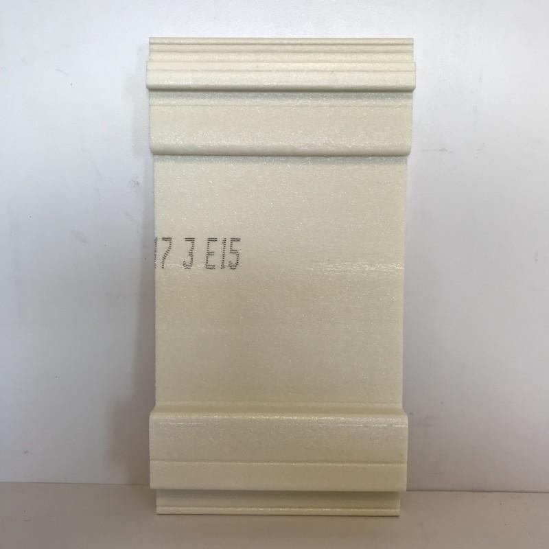 lame bardage blanc pvc cellulaire vein longueur 5ml. Black Bedroom Furniture Sets. Home Design Ideas