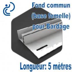 Fond Commun pour Bardage PVC (base femelle)