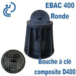 EBAC 400 Bouche à clé en matière composite Marquage Rond