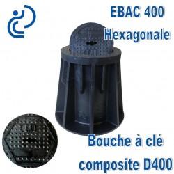 EBAC 400 Bouche à clé en matière composite Marquage Hexagonal