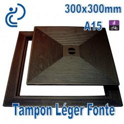 Tampon Léger en Fonte 300x300mm