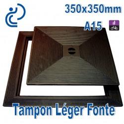 Tampon Léger en Fonte 350x350mm